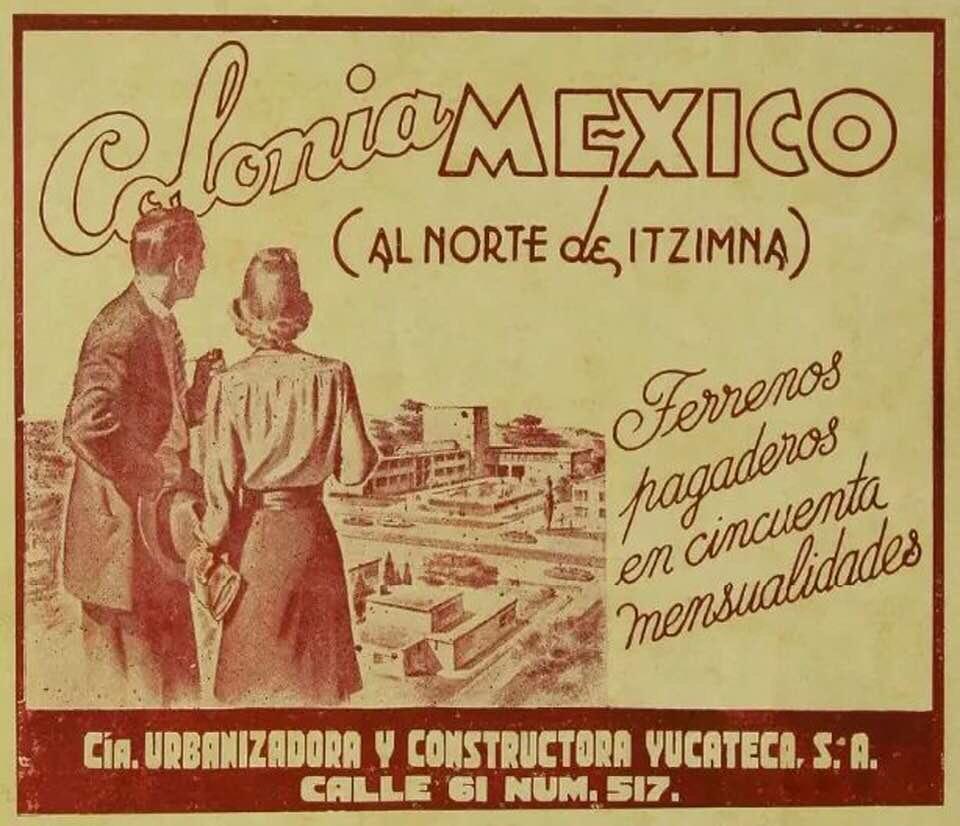 ANUNCIO DE LA COLONIA MÉXICO