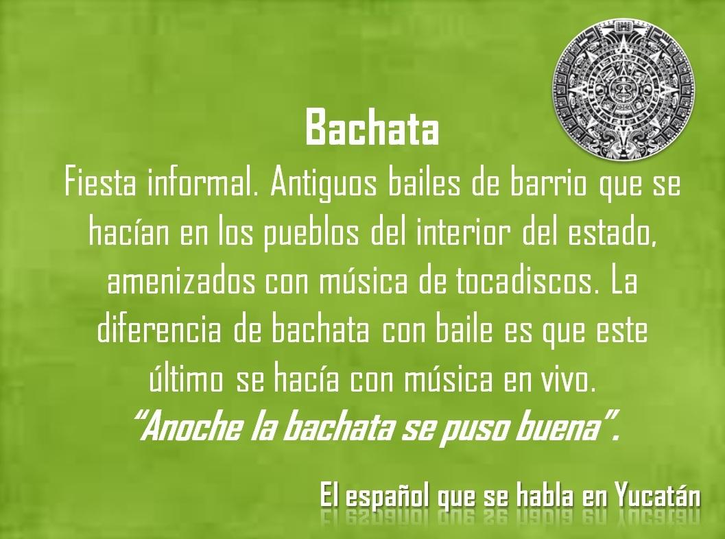 "BACHATA: ""ANOCHE LA BACHATA SE PUSO BUENA"""