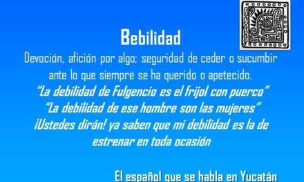 """DEBILIDAD: """"LA DEBILIDAD DE FULGENCIO ES EL FRIJOL CON PUERCO"""