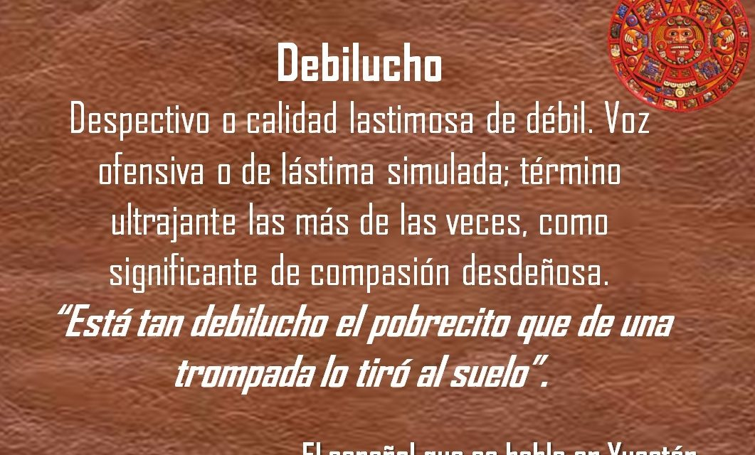 """DEBILUCHO: """"ESTA TAN DEBILUCHO EL PROBRECITO QUE DE UNA TROMPADA LO TIRO AL SUELO"""""""