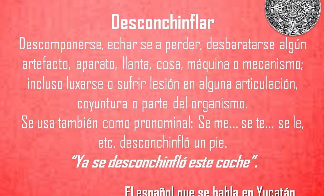 """DESCONCHINFLAR: """"YA SE DESCONCHINFLÓ ESTE COCHE""""."""