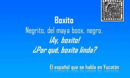 BOXITO,  ¡Ay, boxito!