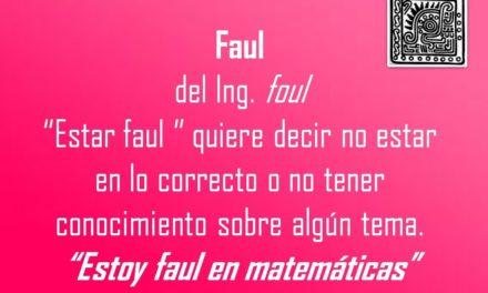 """FAUL: """"ESTOY FAUL EN MATEMATICAS"""""""