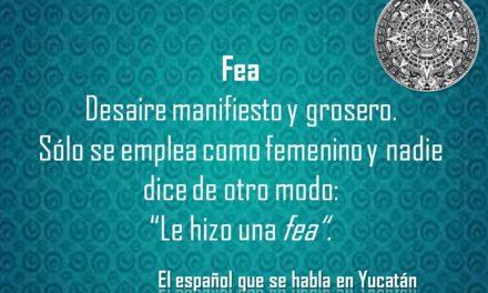 """FEA: """"LE HIZO UNA FEA"""""""