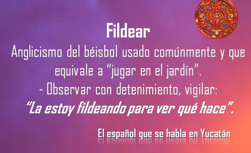 """FILDEAR: """"LA ESTOY FILDEANDO PARA VER QUÉ HACE"""""""