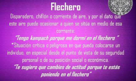 """FLECHERO: """"TE ESTÁS PONIENDO EN EL FLECHERO"""""""