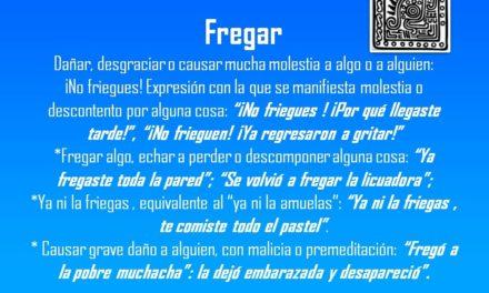 "FREGAR: ""SE VOLVIÓ A FREGAR LA LICUADORA"""
