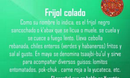 FRIJOL COLADO
