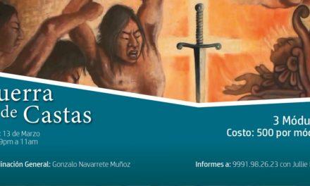 """CURSO: """"GUERRA DE CASTAS"""""""