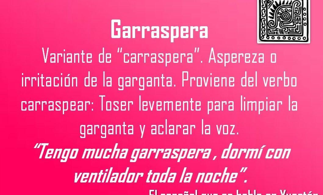 """GARRASPERA: """"TENGO MUCHA GARRASPERA, DORMÍ CON VENTILADOR TODA LA NOCHE""""."""