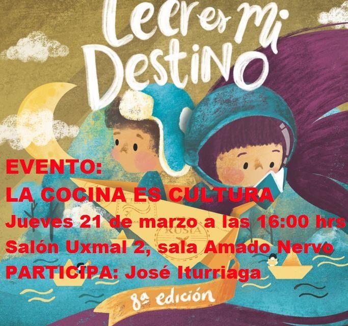 EVENTO FILEY 2019. LA COCINA ES CULTURA