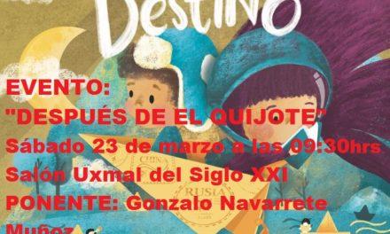 """EVENTO FILEY 2019.  """"DESPUÉS DE EL QUIJOTE"""""""
