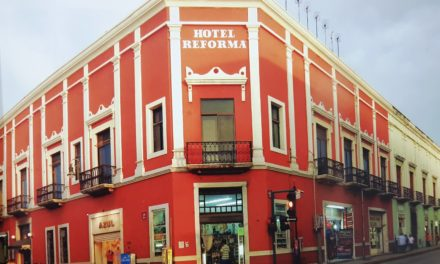HOTEL REFORMA EN DOS TIEMPOS