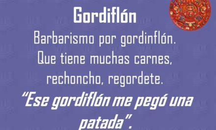 """GORDIFLÓN: """"ESE GORDIFLÓN ME PEGÓ UNA PATADA"""""""