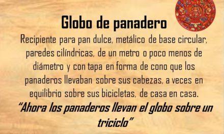 """GLOBO DE PANADERO: """"AHORA LOS PANADEROS LLEVAN EL GLOBO SOBRE UN TRICICLO"""""""