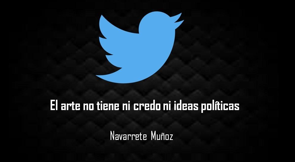 EL ARTE NO TIENE NI CREDO NI IDEAS POLITICAS