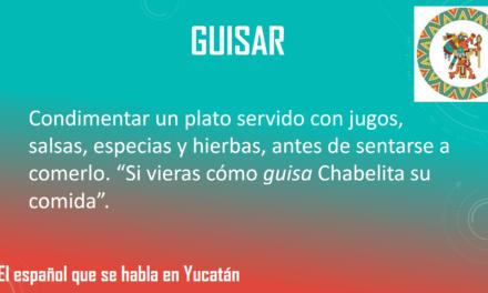 """GUISAR: """"SI VIERAS CÓMO GUISA CHABELITA SU COMIDA""""."""