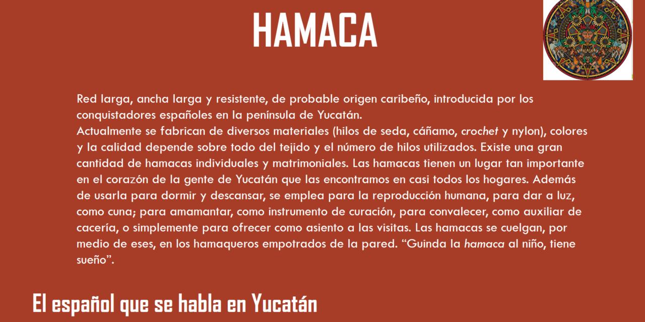 """HAMACA: """"RED LARGA, ANCHA Y RESISTENTE"""""""
