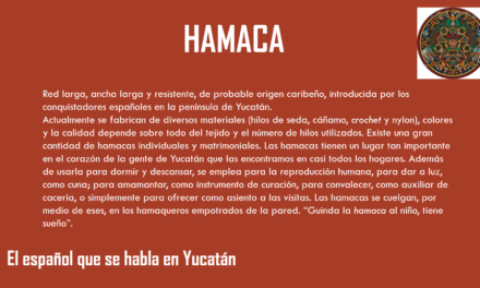 "HAMACA: ""RED LARGA, ANCHA Y RESISTENTE"""