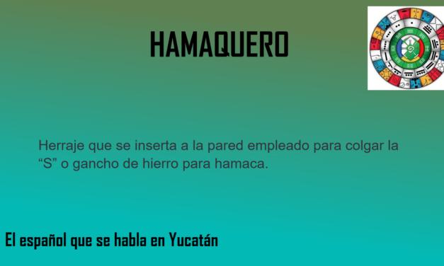 """HAMAQUERO: """"GANCHO DE HIERRO PARA HAMACA"""""""