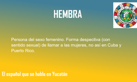 "HEMBRA: ""PERSONA DEL SEXO FEMENINO"""