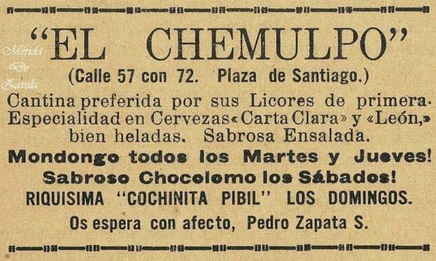 """CANTINAS DE MÉRIDA, """"EL CHEMULPO"""""""