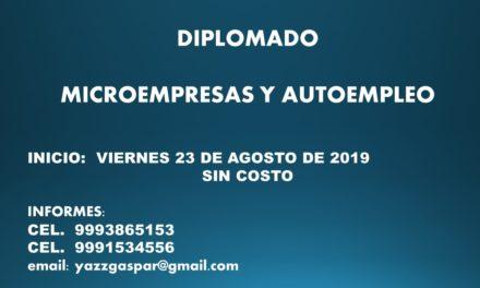 DIPLOMADO:  MICROEMPRESAS Y AUTOEMPLEO