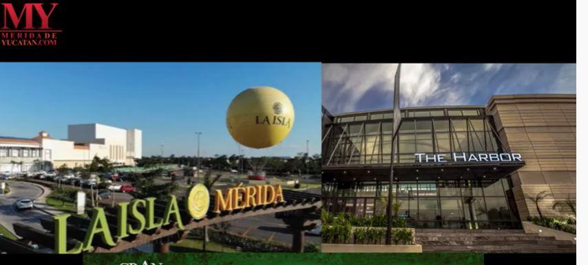 VIDEO:  LAS PLAZAS COMERCIALES EN MÉRIDA