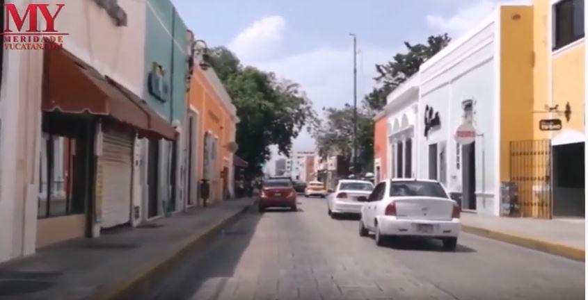 VIDEO: LA CALLE 60 DE MÉRIDA YUCATÁN