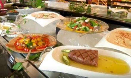 VIDEO:  HOTEL FIESTA AMERICANA: COMIDA LIBANESA
