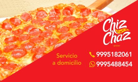 Chiz Chaz Pizza: TU MEJOR OPCÍON (video)