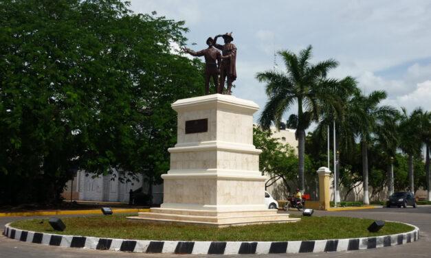 Debate sobre una estatua