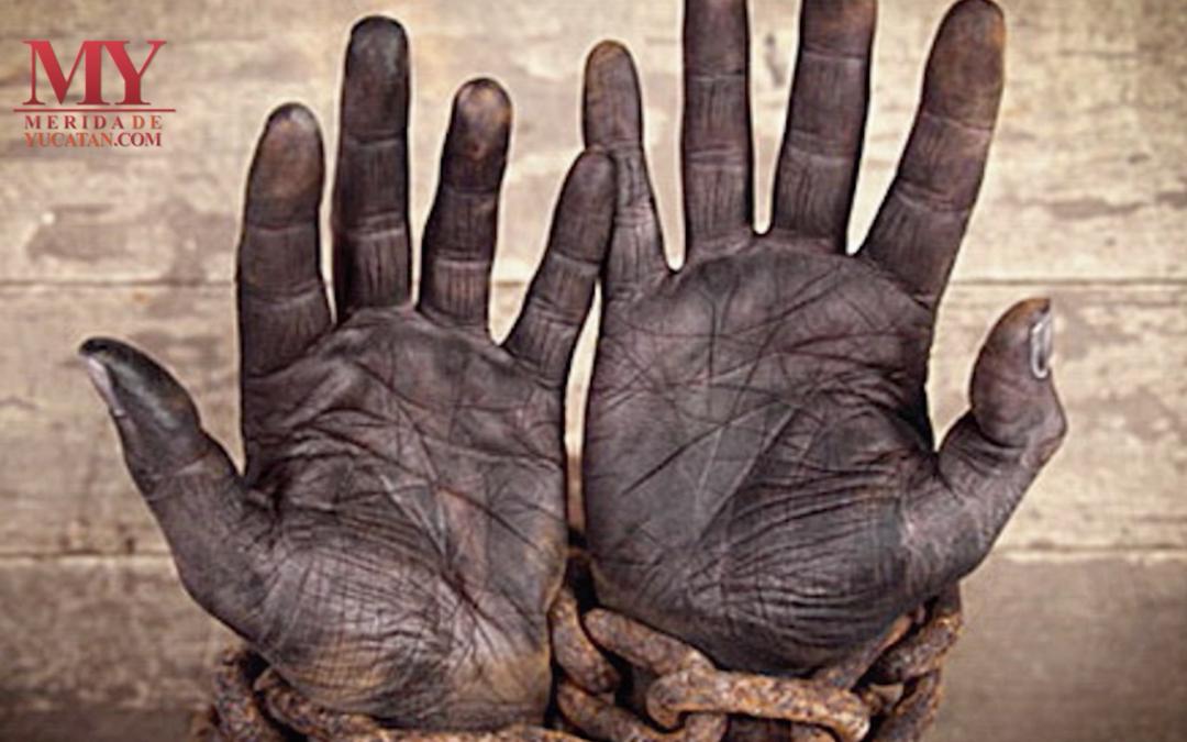 Venta de esclavos mayas a Cuba