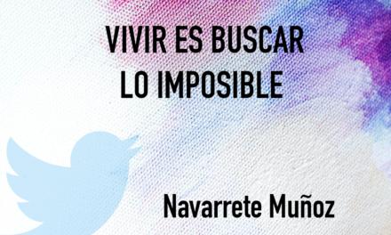 TUIT: VIVIR ES BUSCAR LO IMPOSIBLE