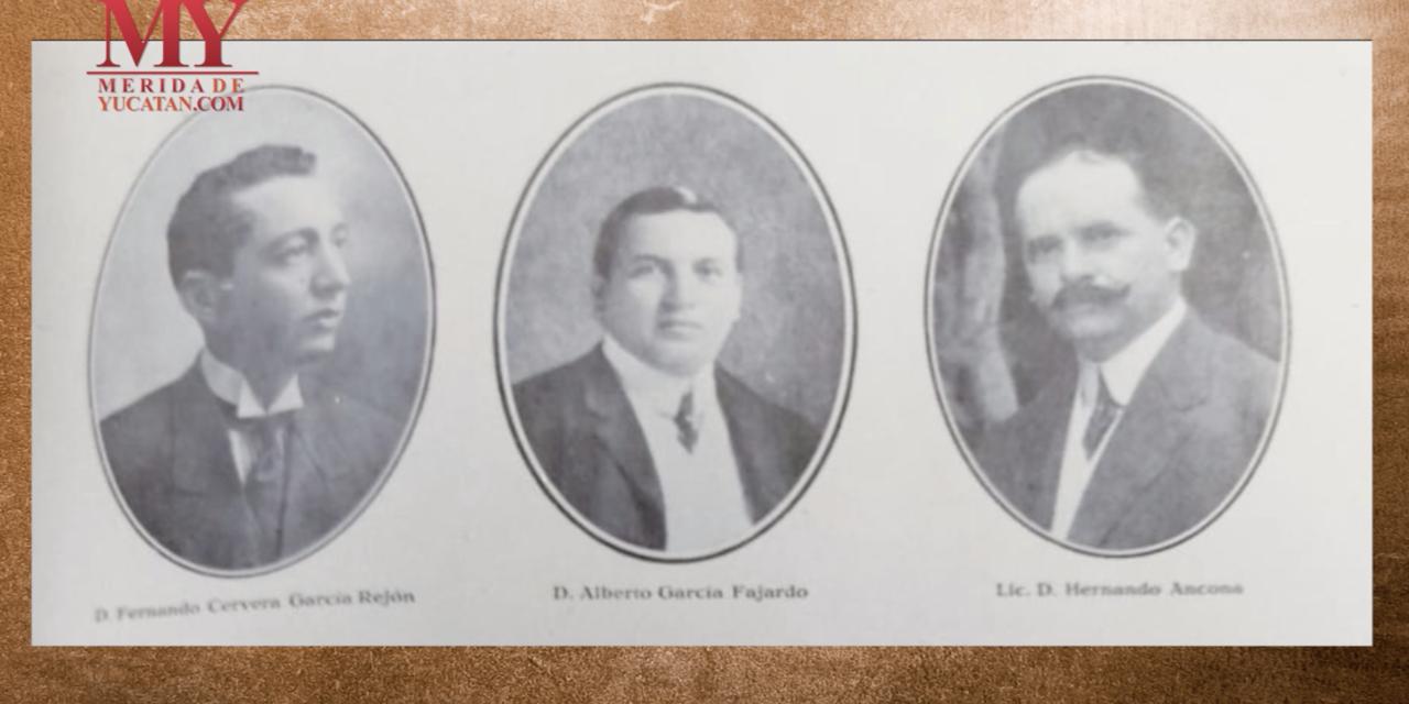 Hacendados yucatecos: Pedro M. de Regil Casares, Miguel Martínez Romero, Alberto García Fajardo