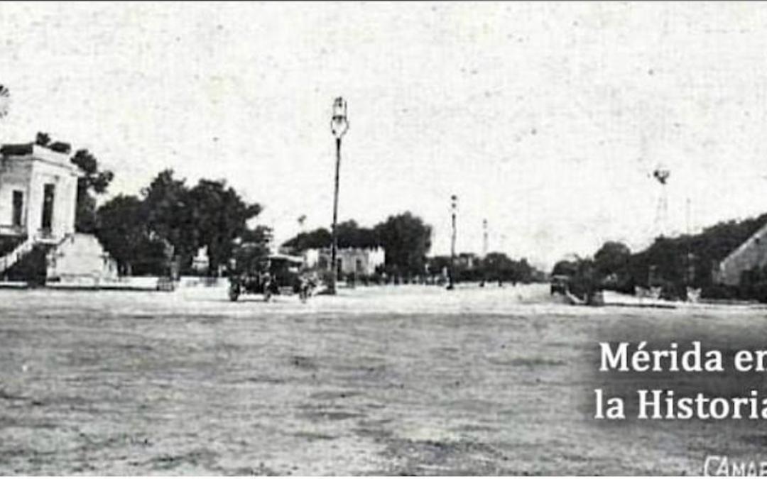 Terreno donde se levantó el Monumento a la Patria