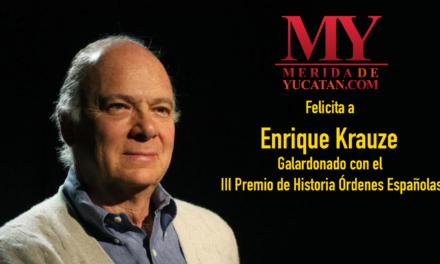 Enrique Krauze, Premio de Historia Órdenes Españolas