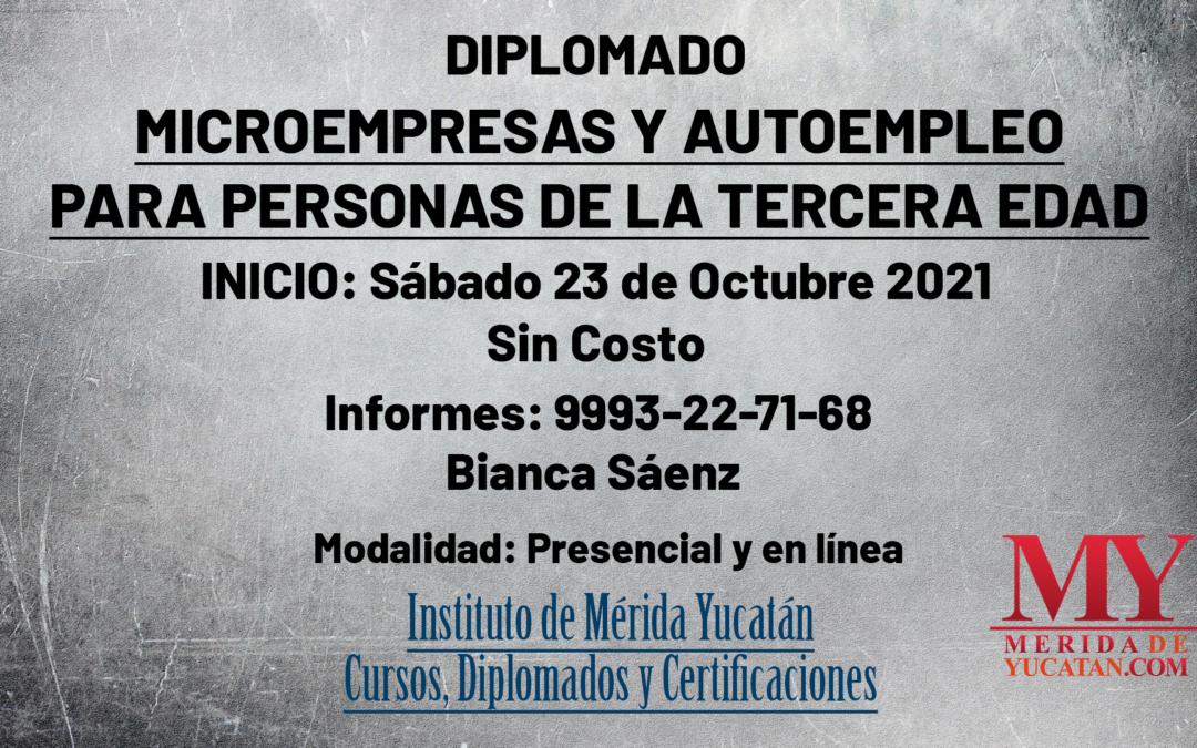 Diplomado: Microempresas y autoempleo para personas de la tercera edad