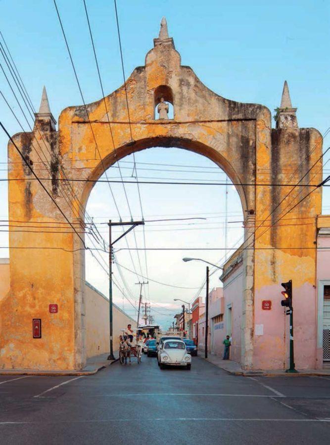 Arco de dragones, Merida Yucatán