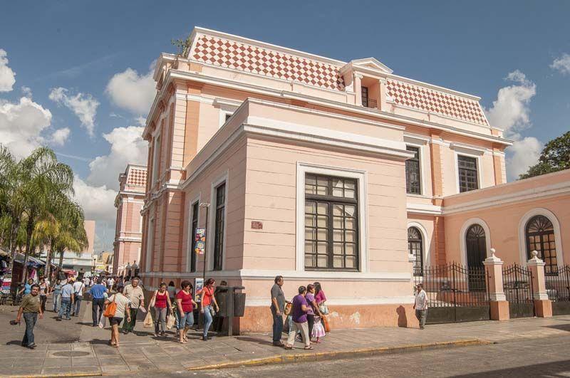 Edificio de Correos de Mérida Yucatán