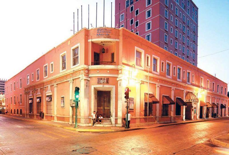 El hotel Mérida, Mérida Yucatán.