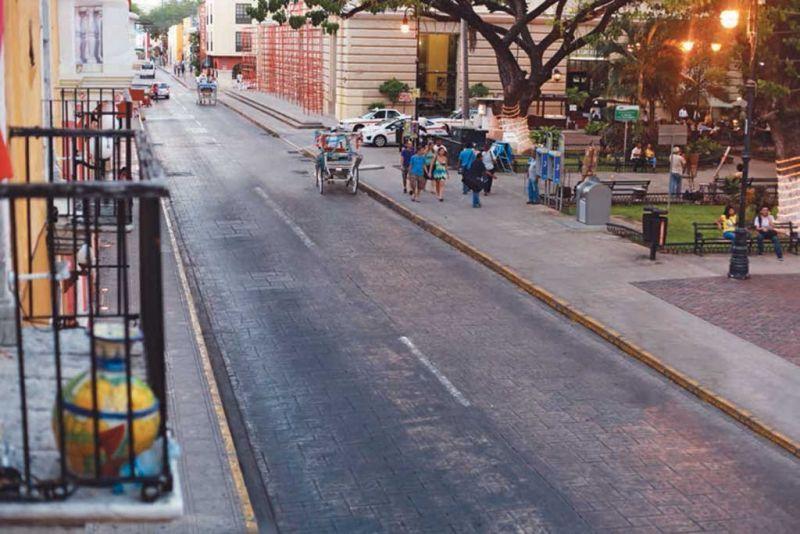 Un paseo por la ciudad de Mérida: Paseo de santa Ana