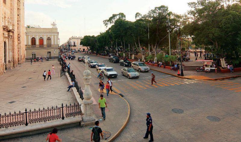 La Calle 60 de Mérida Yucatán