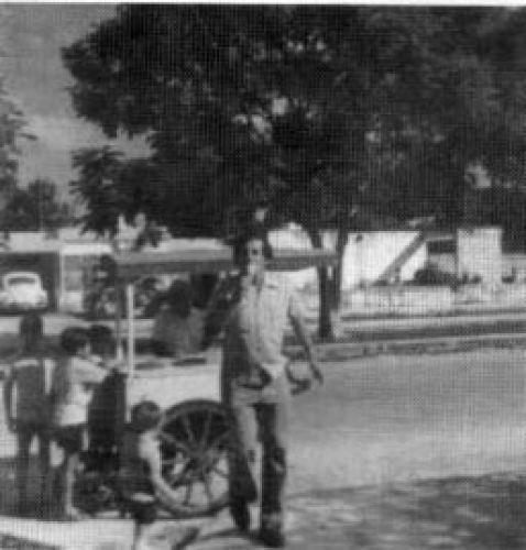 Imágenes históricas de la Escuela de Modelo de Mérida