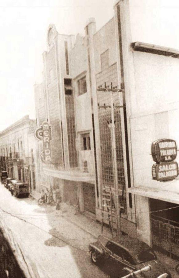 El ex teatro Mérida, ahora teatro Armando Manzanero