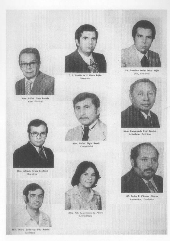 Docentes del colegio Montejo