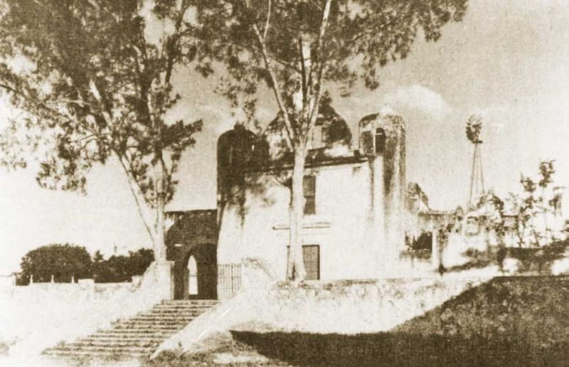 And old photograph of the Hermitage of Santa Isabel