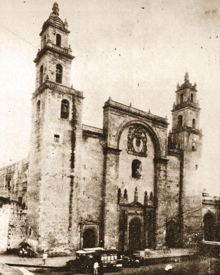 Catedral de la Ciudad de Mérida a principios del siglo XX